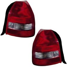 1999 2000 HONDA CIVIC HATCHBACK TAIL LIGHTS PAIR LEFT & RIGHT SET