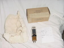 NOS Tested New Sylvania VT-25A Tube VT25A U.S. ARMY SIGNAL CORPS 1942 Power