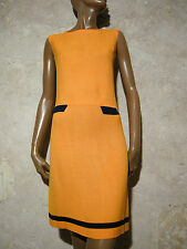 CHIC VINTAGE ROBE 1960 VTG DRESS 60s SIXTIES KLEID 60er ABITO ANNI 60 RETRO (36)