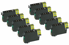 10 Pack Black NON OEM T200XL Ink CARTRIDGE FOR Epson Expression XP 210 310 410