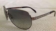 **63-10-125** Prada Aviator Titanium Sunglasses SPR 561 5AV-3M1 made in Italy 10
