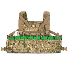 Bulldog LMR M4 223 MOLLE Chest Rig Pouch Carrier Vest Webbing MTP Multicam NEW