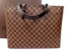 100% Authentic LOUIS VUITTON DAMIER SPECIAL ORDER LUCO SHOULDER TOTE BAG Q913