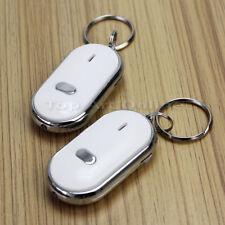 2x LED Akkustischer Schlüsselfinder Schwarz Key Finder Schlüsselanhänger Gadget