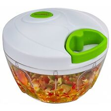 Brieftons Manual Food Chopper: Compact & Powerful Hand Held Vegetable Chopper...