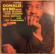 "Donald Byrd ""Fuego"" LP Blue Note Liberty Stereo RVG"