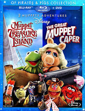 2 Muppety Adventures:  The Great Muppet Caper / Muppet Treasure Island Of Pirate