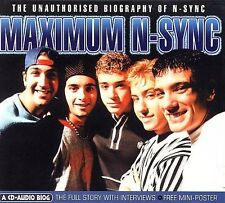 Maximum N Sync The Unauthorized Biography of N Sync SEALED NEW CD Audio Biog pop