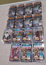 marvel legends..........huge 15 figure lot hulk iron man daredevil nib