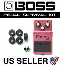 BOSS DM-2 DELAY SURVIVAL KIT GUITAR PEDAL GROMMET RUBBER O-RING SET OF 5
