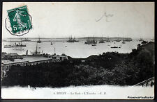 Cpa 29 Brest le  port de guerre la rade l escadre  36g65