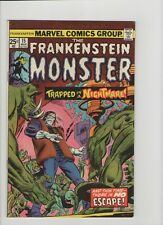 The Frankenstein Monster #15 - Trapped In A Nightmare - 1974 (Grade 7.5) WH
