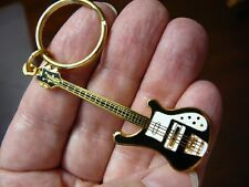 (M-311-D) Pick 1 of 6 colors RICKENBACKER Bass Guitar KEYCHAIN 24k goldplated