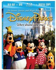 Disney Parks: The Secrets, Stories and Magic by Mickey Mouse Format: Blu-ray NEW