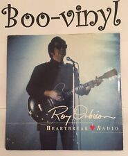 ROY ORBISON HEARTBREAK RADIO/CRYING WITH K.D.LANG PS 45 1989 Ex Con