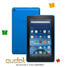 Amazon Kindle Fire 7 Inch 8GB Wi-Fi Tablet 5th Gen - Blue, LATEST MODEL NEW !!!