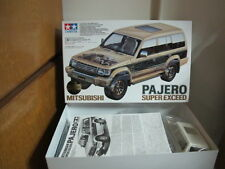 Mitsubishi Pajero MK2 Super exceed 1/24 model kit Tamiya