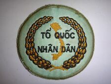 Vietnam War Patch South VN RURAL DEVELOPMENT CADRE Luc Luong Xay Dung Nong Thon
