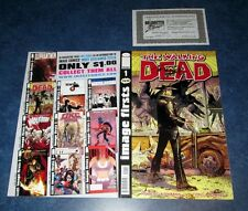 WALKING DEAD #1 signed iMAGE FIRSTS 2011 variant COMIC TONY MOORE COA AMC TV NM