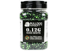 Bulldog BB Pallini Di Qualità PROIETTILI BB 5000 0.12g 6mm ULTRA LUCIDO MIX PELLET
