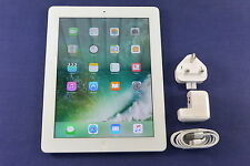 Apple iPad 4th Generation 16GB, Wi-Fi + Cellular (Unlocked), White -UK Vat Inc