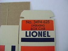 Lionel 3494-625 Soo Line Operating Box Car - Licensed reproduction box