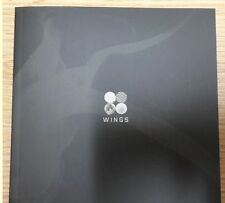 """BTS 2nd Album - Wings """"W"""" ver. CD+Photo book (Jin & Group) NO Photo card"""