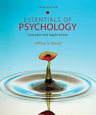 Essentials of Psychology Concepts and Applications by Jeffrey Nevid 3rd Edition