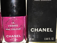 Chanel Vernis FUCHSIA TWIRL Nail Polish VINTAGE Super Rare Comes In The Box!!