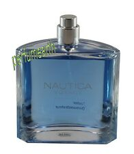 NAUTICA VOYAGE BY NAUTICA  TSTER  3.4/3.3 OZ EDT SPRAY FOR MEN NEW TSTER