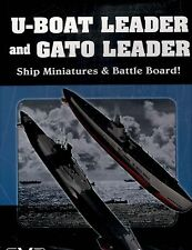 Dan Verssen Games DVG U-Boat Leader & Gato Leader Miniatures & Battle Board