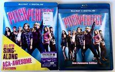 PITCH PERFECT SING ALONG ACA AWESOME ED BLU RAY + SLIPCOVER SLEEVE FREE SHIPPING