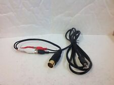Kenwood Car Audio Stereo Aux In Cable To 3.5 Jack Lead Wiring Harness Kdc Krc