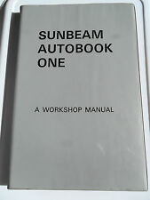 SUNBEAM WORKSHOP MANUAL TIGER ALPINE RAPIER MINX HUSKY COB IMP TUNE UP GUIDE