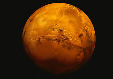 Framed Print - Planet Mars (Picture Poster Art Space Universe Galaxy Earth Moon)