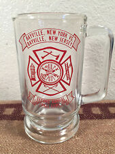 Vintage Firefighter Coffee Cup Softball Game Bayville NJ vs. Bayville NY 1984