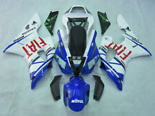Blue ABS Plastic Fairing Cowl Kit Fit For Yamaha YZFR1 YZF R1 1000 2000-2001 6A