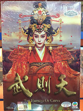 DVD Chinese Drama THE EMPRESS OF CHINA 武則天 Eps 1-75END.. 15 DVDs All region