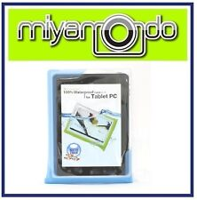 "DiCAPac WP-T20 (Blue) Waterproof Case for over 10"" Tablet"