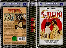 """VHS - """" James Clavell's SHOGUN """" (1980) - Richard Chamberlain - Yôko Shimada"""