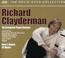 NEW 36 Favourite Piano Ballads by Richard Clayderman CD (CD) Free P&H
