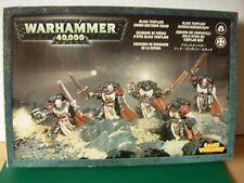 40k Space Marine Black Templars Sword Brethren Veteran Squad Metal Boxed Rare