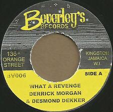 DERRICK MORGAN & DESMOND DEKKER - WHAT A REVENGE - Beverleys UK  ROCKSTEADY