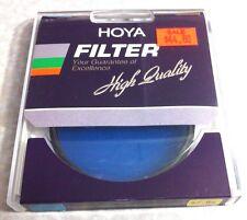 62mm Hoya 80A 80-A 80 A Light Balancing Blue Glass Lens Filter 62 mm Japan