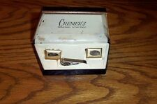 CUFF LINKS SET CUFF LINKS AND TIE CLASP PLAIN GOLD COLOR NO STONE CASE VINTAGE