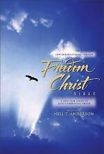 The FREEDOM in CHRIST Bible One-Year Study of GOD'S Truth By Anderson HARDCOVER