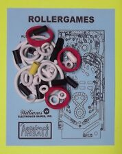 1990 Williams Rollergames / Roller Games pinball rubber ring kit