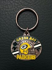 "Green Bay Packers Keychain NFL Official ""Green Bay Packers"" Helmet Logo (WI)"