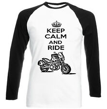 MOTO MORINI 1975 KEEP CALM AND RIDE P - NEW COTTON TSHIRT - ALL SIZES IN STOCK