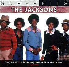 Super Hits by The Jackson 5 Michael Jackson CD Music Shake Your Body 10 Tracks